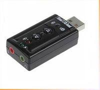 Wholesale USB sound card XP Win7 win8 free drive card