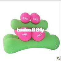 Wholesale Women s women s dip multicolour dumbbell set home fitness dumbbell