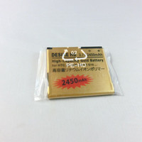 Wholesale best seller seven eleven High Capacity Gold Replacement Battery For HTC Desire HD G10 A9191 Mah