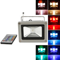 10W battery powered landscape lights - Best LED Flood Light Colorful W RGB Waterproof Floodlight Landscape Lamp Remote Control Outdoor LED Flood Lamp V Battery Powered