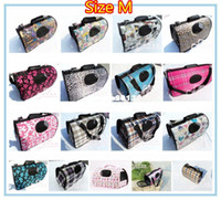Wholesale Top Quality pet stroller hot sale Dog carrier bag collapsible pets bag colors for choose cm