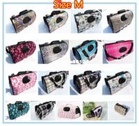 Wholesale Top Quality pet stroller hot sale Dog carrier bag collapsible pets bag colors for choose cm
