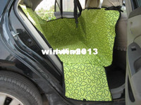 Wholesale Pet Dog Car Rear Back Seat Carrier Cover Pet Dog Mat Blanket Hammock Cushion Protector colors CH0144