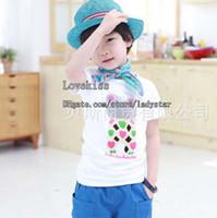 Unisex Summer Standard Children T Shirts Kids Clothes Boy And Girl Cute Cartoon Casual T Shirt Child Clothing Cotton Shirts Tee Shirt Summer Short Sleeve T Shirt