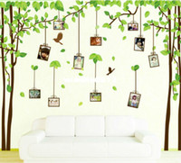 Wholesale Photo Tree bird large home decorations wall decals merry christmas furniture accessories decoration for kids