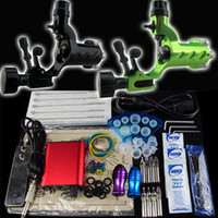 2 Guns Beginner Kit  Beginner Tattoo Kit 2 Dragonfly Machine Gun Power Supply Foot Pedal Needle Grip Tip K75