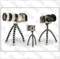 Wholesale Hottest Christmas Octopus Camera Tripod Size L Mini Stand Flexible Gorillapod SLR ZOOM Camera Tripod for Digital Camera With Retail Package