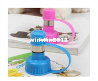 Automatic Feeders & Waterers Ceramic Indoor Wholesale - Pet Cat Puppy Dog Drinking Kit Hanging Water Dispenser Fountain Bottle Head V7234