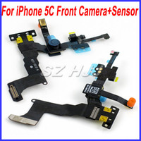 Wholesale For iPhone C Front Camera Assembly with Promixity Sensor Motion Flex Cable Ribbon Replacements