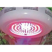 Nouvelle arrivée UFO 90W LED Grow Light Panel Indoor Plant Growing Floraison hydroponique R: B = 8: 1 Garantie de 3 ans d'économie d'énergie 120 degrés Angle