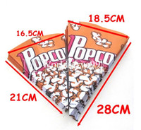 Christmas christmas container - 100x Popcorn Paper Pack Bags Cinema Candy Cookie Container Party Favors Package Size