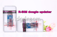 Unlocking Card apple updater - R SIM dongle adapter for R SIM Mini R SIM Mini RSIM Mini updater extreme with retail box