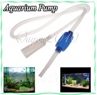 Fish Tank Cleaner Pump   Siphon Vacuum Water Pump Gravel Cleaner Aquarium Filter