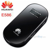 Wholesale Huawei E586 Original Wireless unlocked pocket Wifi g Mobile Modem broadband mbps G wifi Wireless Router hotspot G Router