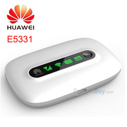 Wholesale Huawei E5331 Wireless hotspot Hspa Pocket Wifi MIFI mbps G wifi Wireless hotspot Router Modem mobile broadband G Router