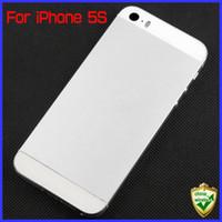Para el iPhone 5S 13 colorea la cubierta trasera completa del chasis para la puerta de batería de iPhone5S Cubierta + las pequeñas piezas Cables de la flexión DHL EL ccsme MOQ5 PCS