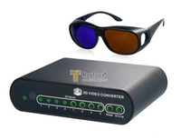 Best HDMI 2D to 3D 1080P High-Definition Conversion Signal Video Converter Box Set for TV Movie Blue Ray Xbox 360 DVD PS3
