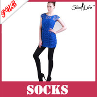 Men Bodysuit Tight 680D Black Tights Slimming Leggings Long Leg Socks Anti-varicose veins Compression Stocking Pantyhose 100pcs Free Shipping