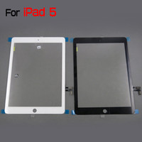 Wholesale For iPad iPad Air High Quality Original Digitizer Touch Panel Screen by DHL EMS