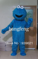 Wholesale blue monster Mascot Costume Animal Character Costumes and Elmo Elmo Mascot Costume Character Costume Cartoon Costume