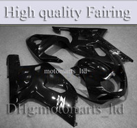 Wholesale Customized GSXR600 all brilliant black pure black Fairing for Suzuki GSXR600 GSXR750 GSXR600 GSXR K1