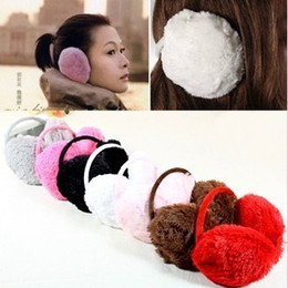 Wholesale Fluffy warm Earmuffs Ear ear after winter super stealth belt welcome to buy