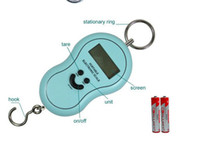 Hanging Scale 1kg-10kg kg (kg), lb (LB), oz (Ang Si), Jin (kg) Pocket Portable Hanging LCD Digital Electronic Luggage Fishing Balance Weighting Scale Fish Hook Waage largest weighing 40kg accurate to 1G