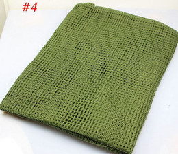 Tactical Combat Army fans large multi-purpose camouflage net forces scarves large square Scarf face veil for hunting ski multi
