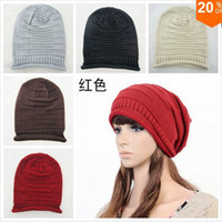 Wholesale 2013 new fold knitted wool head cap hip hop fashion winter hat apparel and accessories south korea style