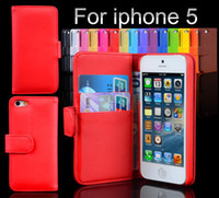 For iPhone 5 5S PU For Christmas 50 pcs Plain Weave Wallet PU Flip Leather Case Cover with Credit Card Slot Holder For Iphone 4 4S 5 5S 5C Galaxy Note 3 S2 S3 S4 S5