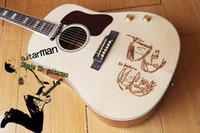 Wholesale Custom New brand acoustic guitar John Lennon J E Acoustic Electric Guitar