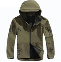 Wholesale New TAD V Men softshell windbreaker Jacket For Outdoor Hunting Camping Waterproof Army Coat Outerwear Hoodie