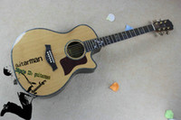 Wholesale Custom New brand ce Acoustic Electric Guitar Ebony fingerboard Acoustic guitar