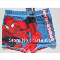 Boy Swim Trunks 2-7T billabong shorts boy spiderman trunks print boy swim pants for boy boys bathing suits swimwear