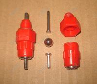 Wholesale Red Chicken Nipple Drinker With Steel Ball Screw Heavy Duty Waterer Drinker Waterbowl for Poultry Rabbit Duck