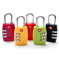 Wholesale Hot TSA Dial Combination Lock For Luggage TSA335