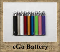 Wholesale eGo Battery Electronic Cigarette mAh mAh mAh e cig match CE4 Atomizer CE5 Clearomizer CE4 MT3 M6 DHL ship