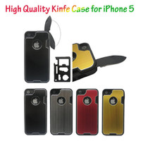 Wholesale Promotion Case Knife Case Outdoor Camping Multifunction Knife Case with Knives and Bottle Opener Case Phone Case for iPhone G TOWOTO