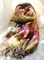 Rectangle Spring and winter Ms. Loop yarns cashmere scarves hit the color Ms. Winter Scarf Shawl