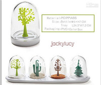Wholesale Funny Four Season Plant Styles Salt amp Pepper Shakers Kitchen Gadgets Seasoning Tool Box Case