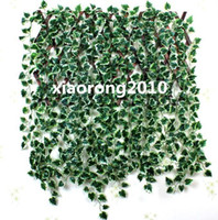 brand new artificial ivy - 24Pcs Ivy Leaf Rattans cm inches Artificial Silk Begonia Simulation Ivy Rattan for Wall Leaf Vine Green Plant Decorative Vines