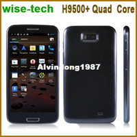 """Cheap free shipping singapore post ! 5.3"""" Hero H9500+ Quad Core phone MTK6589 1GB RAM Android 4.1 OS emma"""