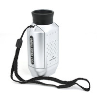 Wholesale 7X Digital Golf Range Finder yards Distance measure Golfscope Pocket tele Scope Bag Hot Sale
