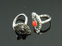 Cheap Cluster Rings Oval Gemstone Ring Best Bohemian Women's Vintage Rings