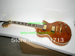 High Quality Newest Brown Les Supreme Electric Guitar Best Free Shipping