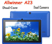 Dual Core tablet android mid - Top quality inch Q88 Tablet pc MID Dual Core Dual camera Android Allwinner A23 Ghz MB GB