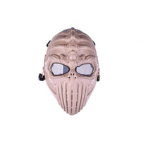 Wholesale Tactical Skull Army Airsoft Paintball Gun Full Face Game Protect Safe Mask HOT