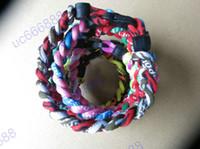 Wholesale Ropes Tornado Germanium Titanium Healthy sports Athletes Bracelets