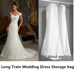 Wholesale Wedding Dress Garment Storage Bag Make to Order for Wedding Dress Store Takeout Easy to take bag