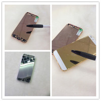 Wholesale For iPhone S back cover k Gold rose gold platinum Battery Cover Housing Assembly Middle Frame Metal Housing door DHL